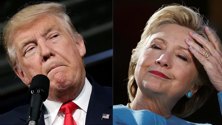 El conteo continúa: Clinton lidera con 2 millones de votos populares