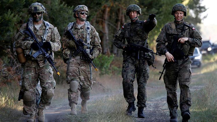 Comienza el despliegue del batallón de la OTAN en Polonia