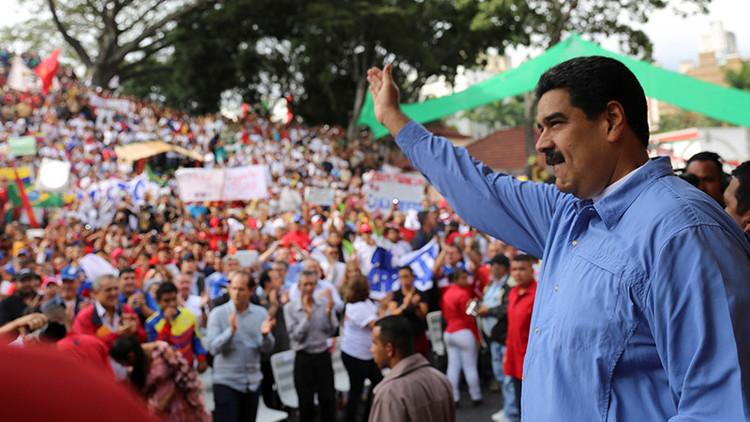 """Maduro al Mercosur: """"Si nos sacan por la puerta nos metemos por la ventana"""""""