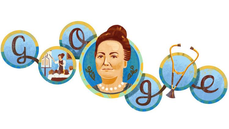 Google homenajea a la primera médica argentina