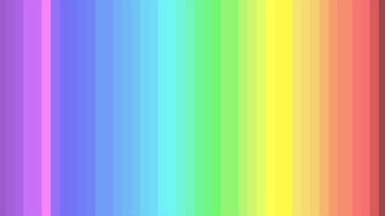 ¿Cuántos colores ve en esta imagen? Solo los elegidos pueden detectarlos todos
