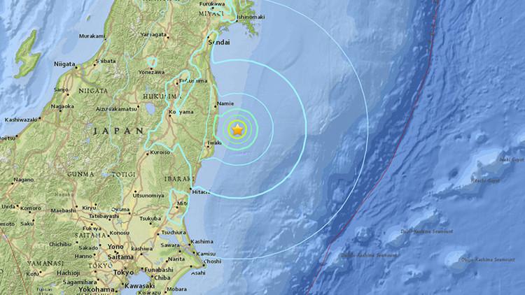 Un fuerte sismo de magnitud 6,1 sacude Japón