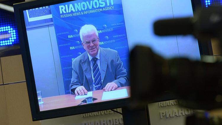 """""""Más allá de la moral"""": Representante ruso ante la UE comenta la resolución contra los medios rusos"""