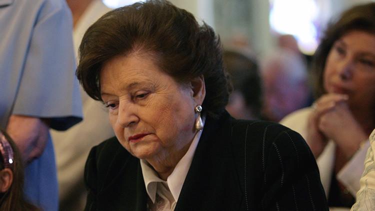 La viuda de Pinochet, inculpada por presunta malversación de fondos públicos