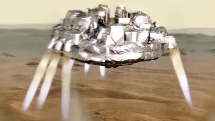 Revelan la causa del accidente del módulo Schiaparelli en Marte