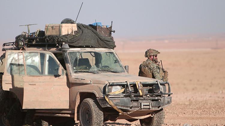 Muere un militar estadounidense tras una explosión en Siria