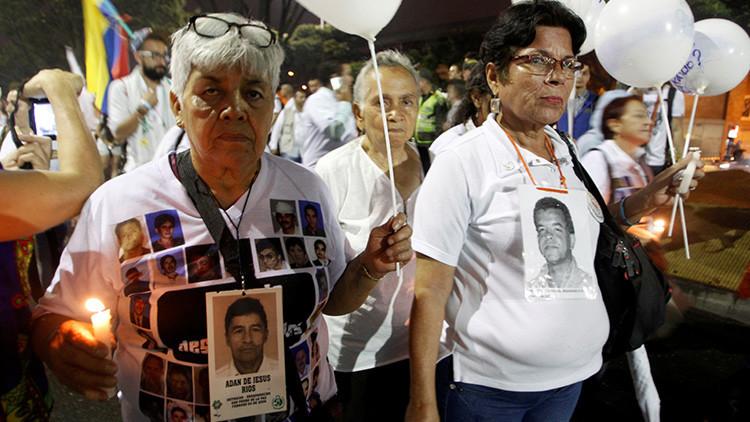 60.630 desaparecidos, las víctimas de la democracia colombiana