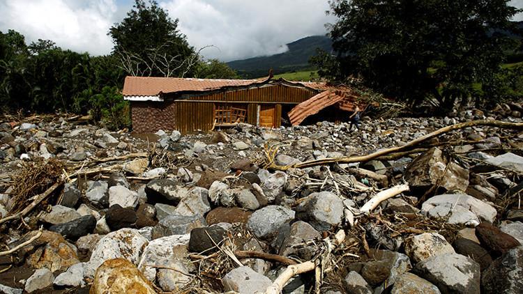 Costa Rica declara duelo nacional por estragos dejados por Otto