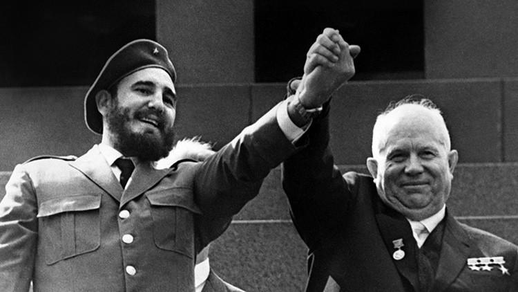 Así fue la primera visita de Fidel a la URSS (FOTOS)