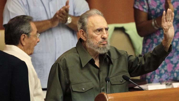 La última imagen en vida de Fidel Castro