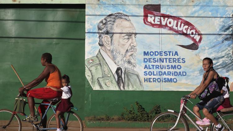 De Israel a Nueva Zelanda: obras de arte urbano que demuestran que Fidel vivirá siempre