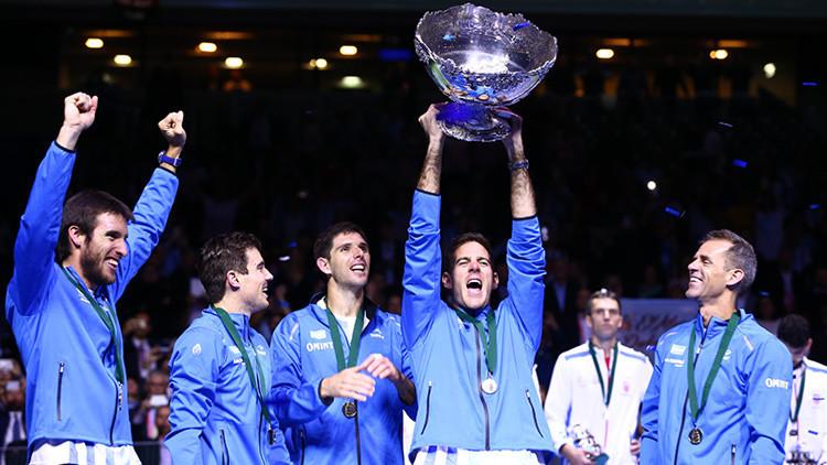 Argentina se proclama por primera vez en su historia campeona de la Copa Davis