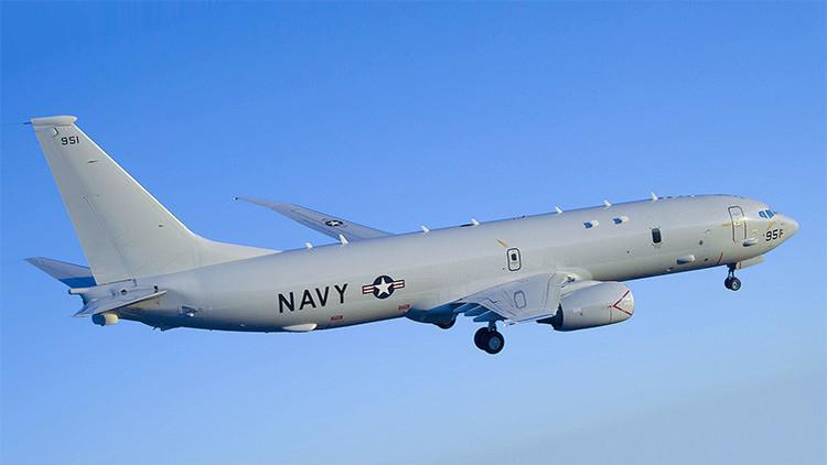 Un avión antisubmarino de EE.UU. sobrevuela el grupo naval ruso en el Mediterráneo Oriental