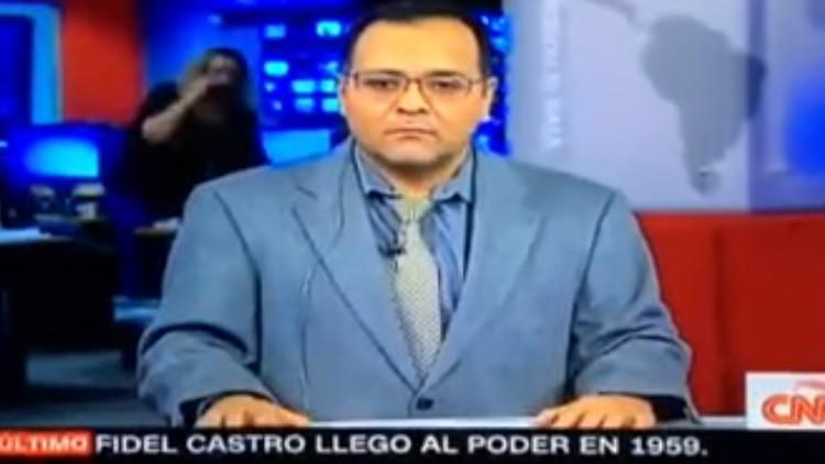 """""""¡Necesito saber si estoy fuera del aire!"""": La manera más extraña de anunciar la muerte de Fidel"""