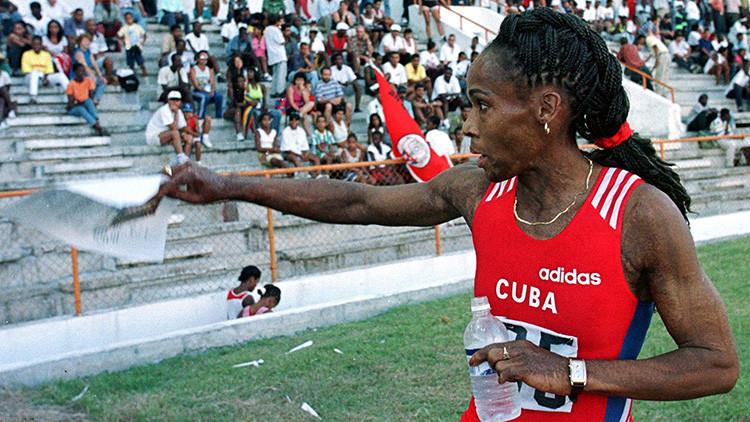 Cómo Fidel Castro le dio aliento a una atleta cubana