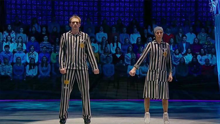 'El baile del Holocausto' de una campeona olímpica de patinaje rusa desata la polémica