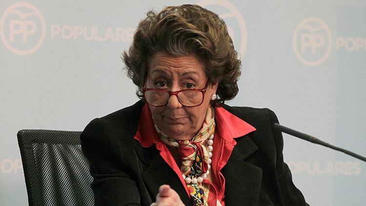 Desconcertante: Revelan el último SMS de la senadora española Rita Barberá antes de morir