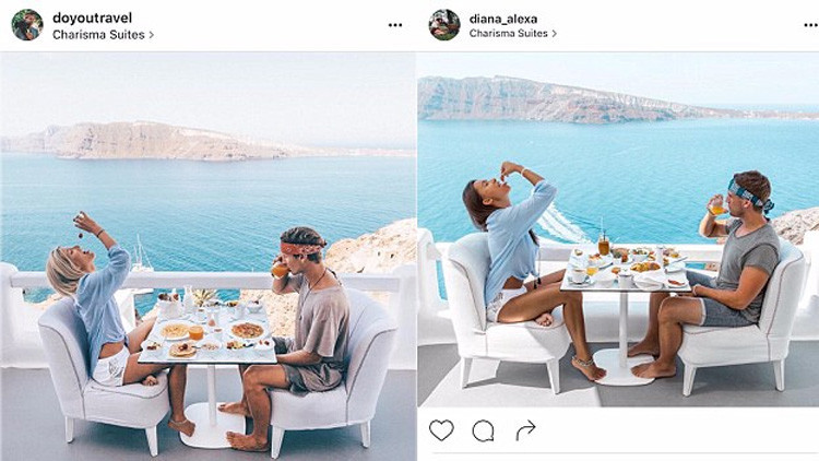 ¿Un clon?: Usuaria de Instagram descubre que la siguen para imitar las fotos de sus viajes
