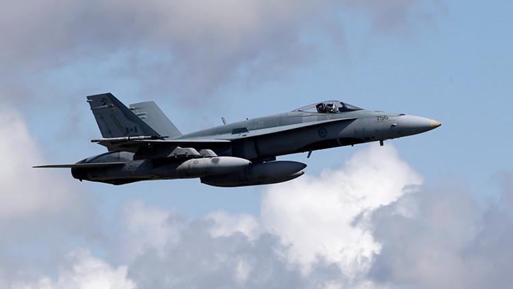 Muere el piloto de un caza CF-18 al estrellarse en Canadá