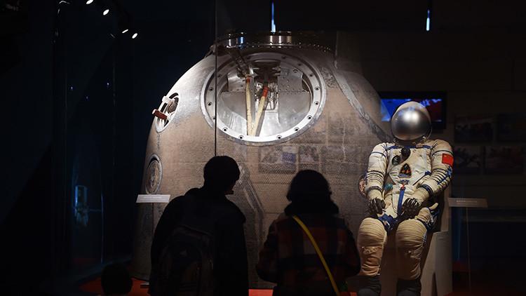 El primer astronauta chino oyó un golpe extraño en su vuelo espacial