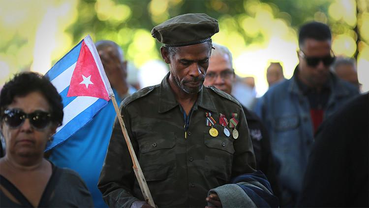 El último adiós a Fidel Castro, en imágenes