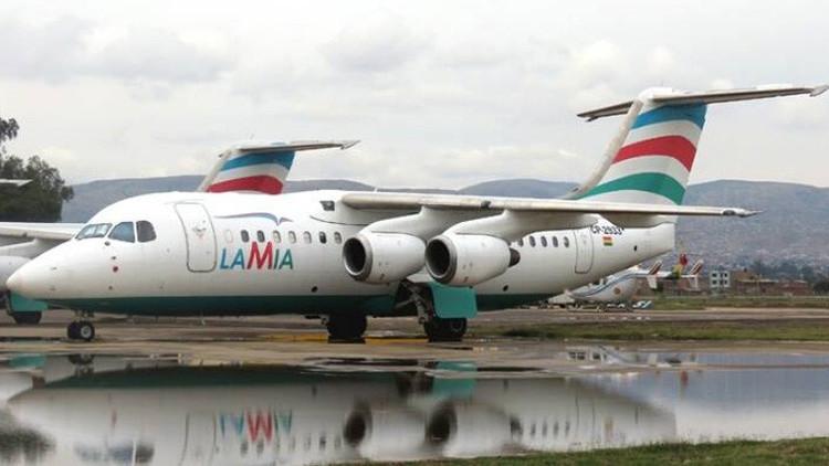 Publican las primeras imágenes del avión estrellado en Colombia