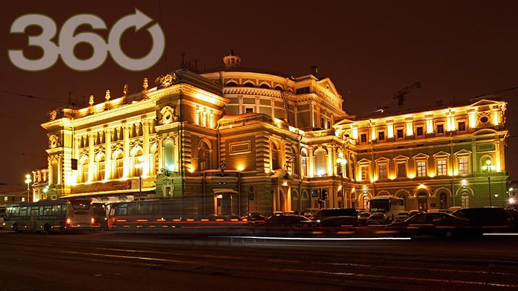 Prokófiev en 360º : RT mostrará la primera emisión panorámica de un concierto en el Teatro Mariinski