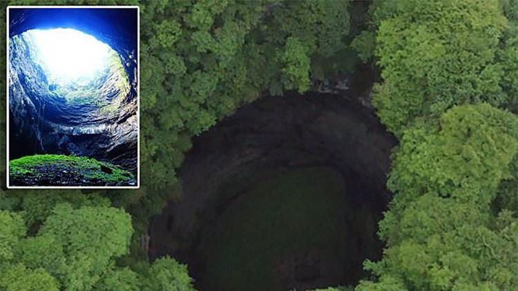 VIDEO: Descubren cavernas gigantes en las montañas de China