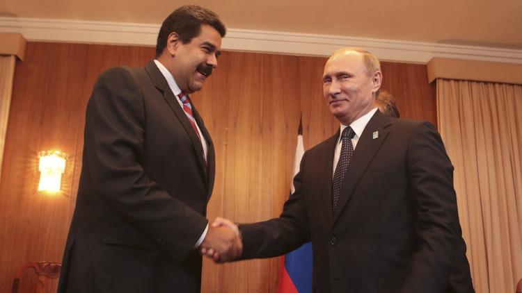 """Nicolás Maduro: """"Putin es un símbolo de la lucha por un mundo multipolar"""""""
