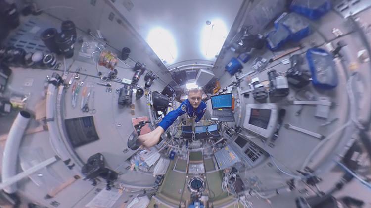 """El """"corazón del segmento ruso"""" de la EEI: un paseo en 360º por los primeros módulos de la estación"""