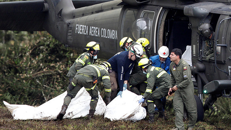 """""""En puertas de la eternidad"""": La premonición de un tripulante del avión siniestrado en Colombia"""