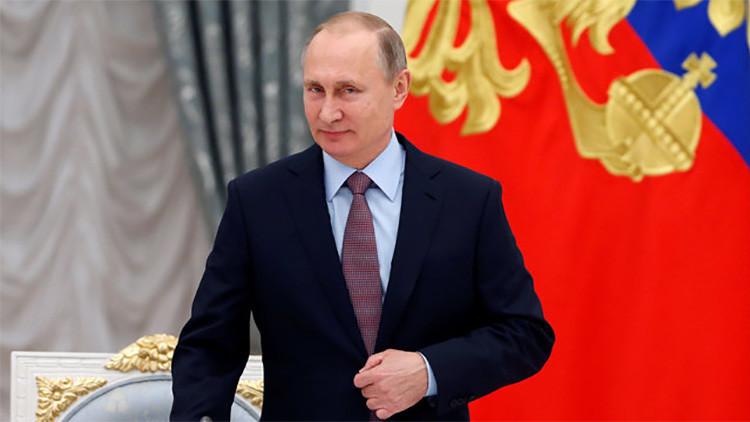 """Putin: """"Nos gustaría mejorar las relaciones entre Rusia y EE.UU."""""""