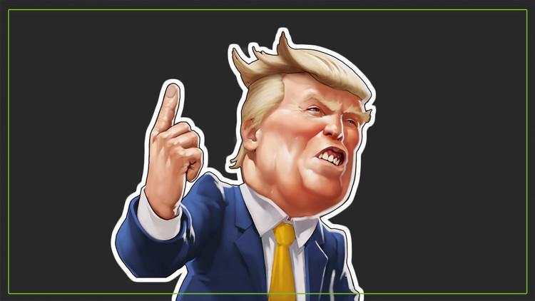 Las 10 promesas más curiosas de Donald Trump, en tarjetas