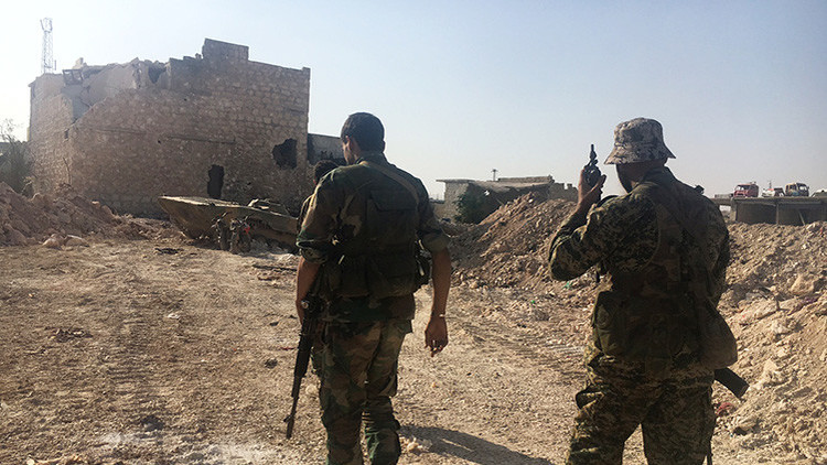 """""""Los varones mayores de 12 años han sido movilizados a la fuerza por los militantes en Alepo"""""""