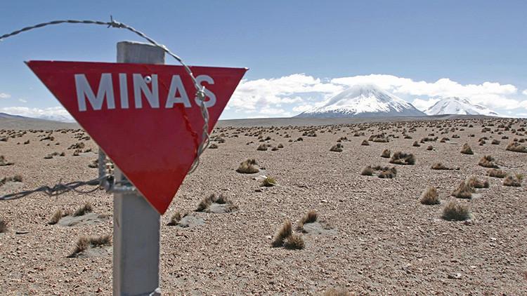 Bolivia exige a Chile el desminado de la frontera entre ambos países