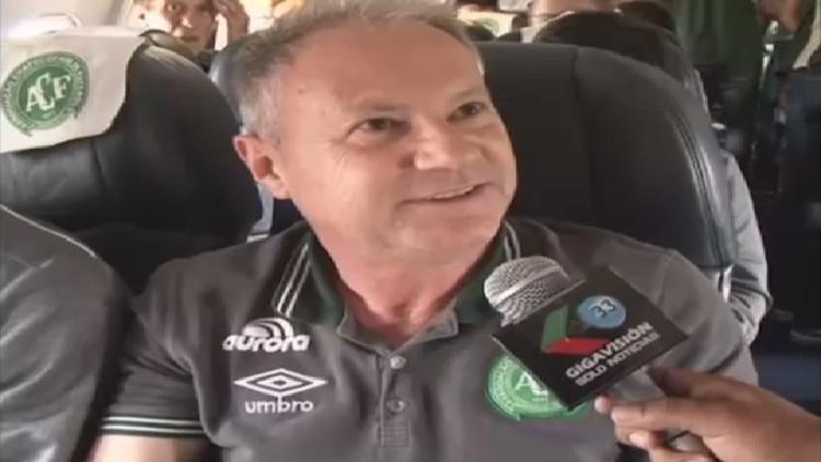 "Vicepresidente del Chapecoense sobre LaMia: ""Esperemos que nos dé suerte como ya lo hizo"" (Video)"