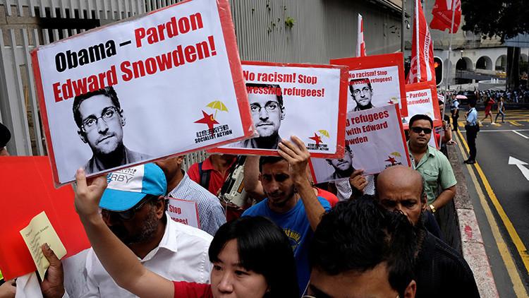 """Piden a Obama que perdone a Snowden y que termine con su """"exilio insostenible"""""""