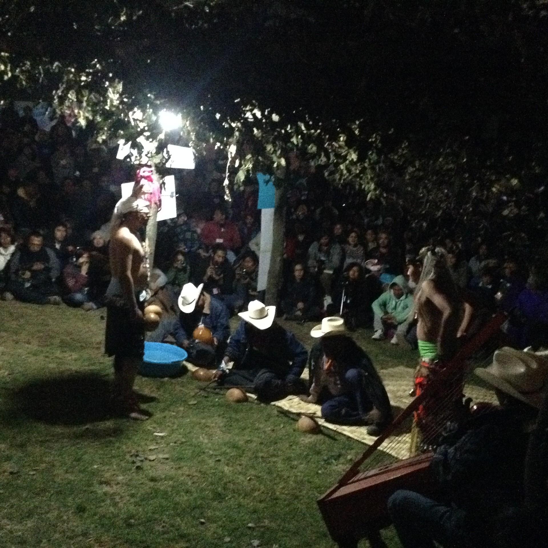 Tradicional danza del venado yaqui.