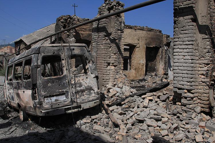Tsjinvali, 13 de agosto de 2008