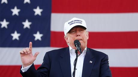 El candidato republicano a la Casa Blanca, Donald Trump, durante un evento de su campaña electoral, Miami, Florida, EE.UU., 2 de noviembre de 2016