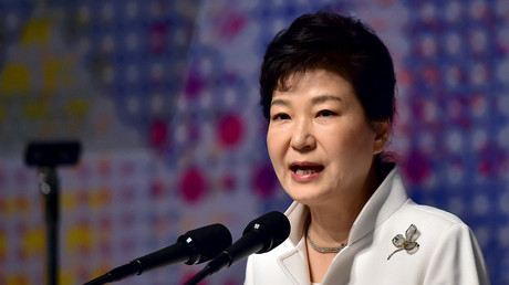 La presidenta de Corea del Sur, Park Geun-hye