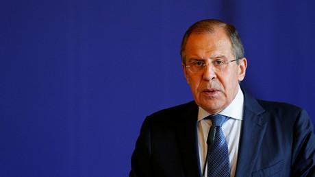 El ministro de Relaciones Exteriores de Rusia, Serguéi Lavrov
