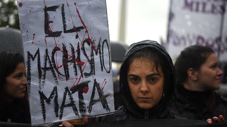 Marcha contra la violencia machista en Buenos Aires, 19 de octubre de 2016