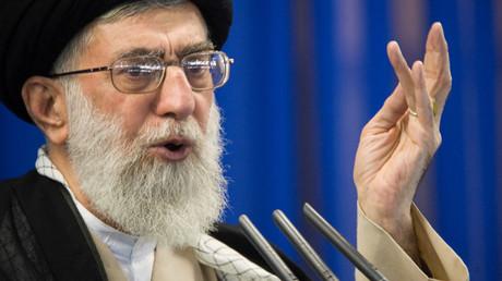 Alí Hoseiní Jamenei, líder supremo de Irán