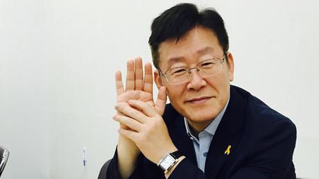 Lee Jae-myung, alcalde de la ciudad surcoreana de Seongnam.