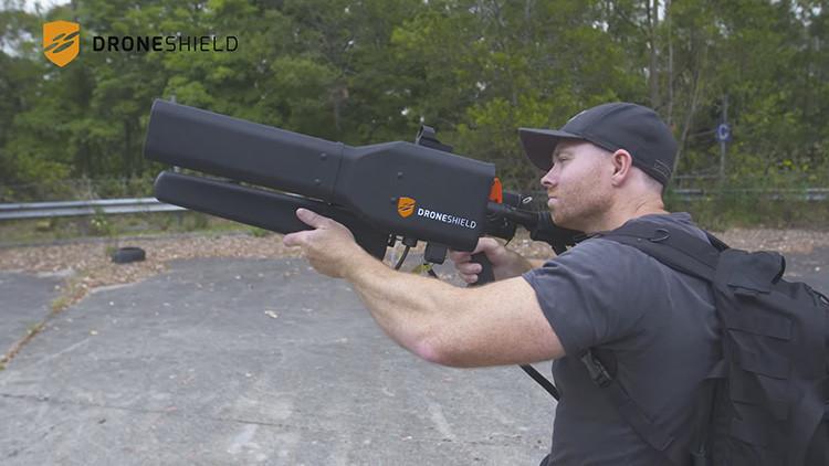VIDEO: Así funciona DroneGun, el rifle mata-drones