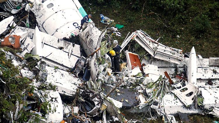 Revelan una posible causa de la tragedia aérea del avión del club Chapecoense