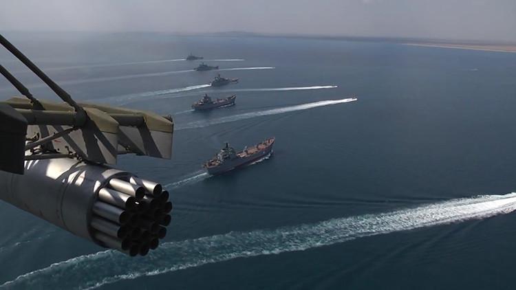 Ucrania efectúa lanzamientos de misiles cerca de Crimea