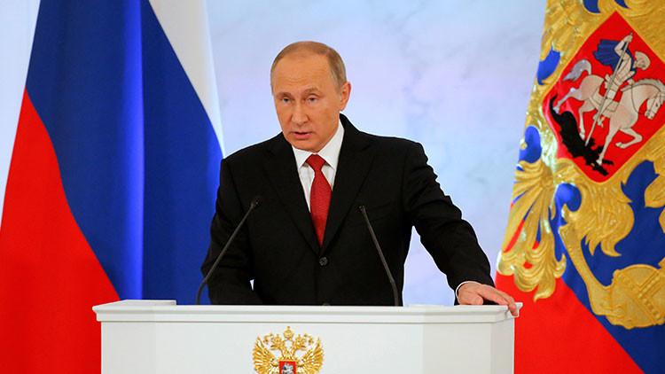 Putin revela cuál es el sentido de la política de Rusia