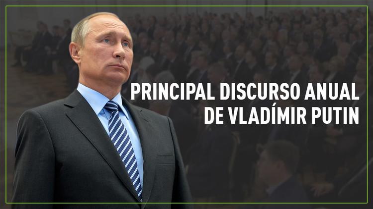 Las 5 claves del discurso anual de Vladímir Putin ante la Asamblea Federal
